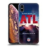Officiel NFL Stade De Mercedes-Benz Atlanta 2019 Super Bowl LIII Étui Coque en Gel...
