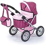 Bayer Design - Cochecito de muñeca, Trendy, color rosa (13053AA)