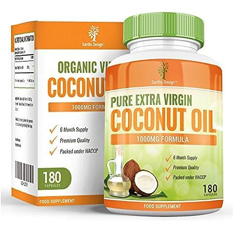 Olio vergine di cocco in capsule, totalmente