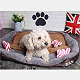 REXSONN® Hundebett kuscheliges, waschbares Hund Bett Hundekissen - 9