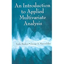 [(An Introduction to Applied Multivariate Analysis )] [Author: Tenko Raykov] [Apr-2008]