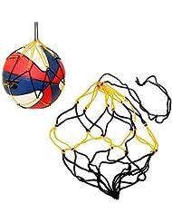 Basketball Carry Net Soccer Mesh Bag Football Bag Ball Storage Bag for Volleyball 5-pack