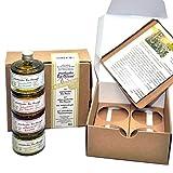 direct&friendly 4er Geschenkset Bio Olivenöle mit Chili, Tomate, Oregano