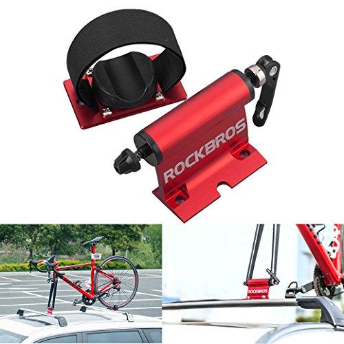ShopSquare64 Rockbros Fahrradträger für Fahrrad Auto Dachträger Schnellverschluss Legierung Gabel Auto Bike Block