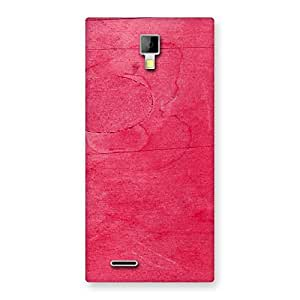 Delighted Pink Wood Work Multicolor Back Case Cover for Micromax Canvas Xpress A99
