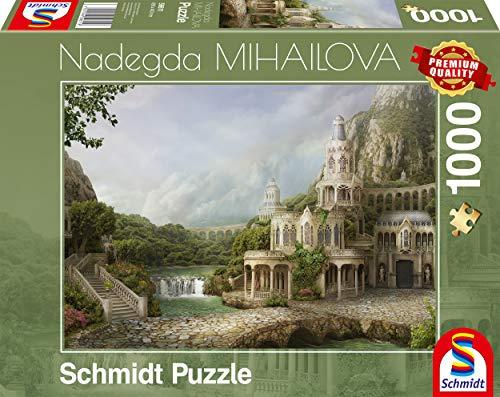 Schmidt Spiele Puzzle 59611nadegda mihailova, Palais en los Bergen, Puzzle de 1000Piezas