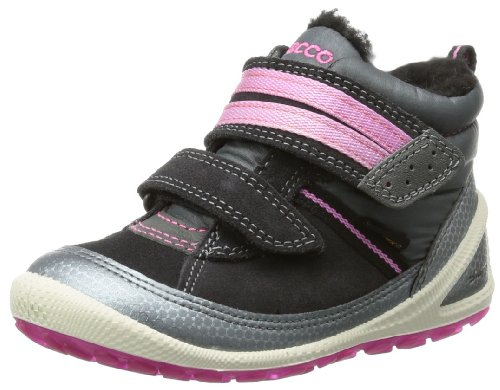ECCO Biom L.i. B.Silv/Moonl/d.Sha/Beetroot, Sneaker Unisex – Bambini nero (Schwarz (BUFFED SILVER/MOONLESS/D.SHAD/BEETROOT))
