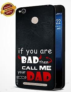 alDivo Premium Quality Printed Mobile Back Cover For Redmi 3S / Redmi 3S Back Case Cover (MKD303)