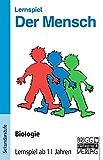 Lernspiele - Biologie: Der Mensch - Lernspiel: Biologie - ab 11 Jahren. 80 Frage und Antwortkarten