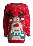 Weihnachts Pullover hässliche Farbkombination