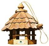 """HOUSE-GARD 96 Holz-Vogelfutterhaus """"Feldlerche"""", 35x31x37 cm"""