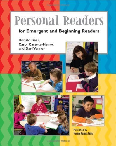 Personal Readers: For Emergent And Beginning Readers by Donald Bear (2008-08-17)