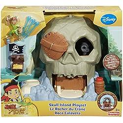 Jake y los piratas - Set de juego, roca calavera.