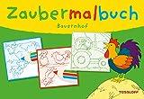 TESSLOFF VERLAG Zaubermalbuch - Bauernhof Kinderbuch