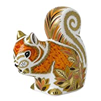 Royal Crown Derby - Paperweight - Autumn Squirrel