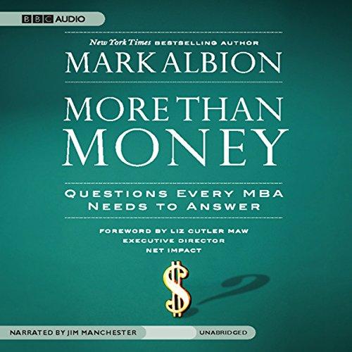 More than Money  Audiolibri