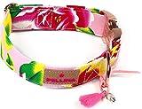 Pellina Hundehalsband Punta Arabi Light Pink (XL (45-60cm), Rosegold)