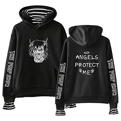 Lil Peep Sweatshirt Hip-Hop-Hoodie für Herren Damen Pullover ()