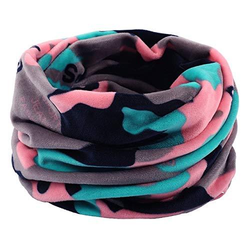 Dashuaige sciarpa unisex donna uomo inverno autunno doppio strato collo casual sciarpe lavorate a maglia scialle scaldacollo scaldacollo maschera berretti cappelli