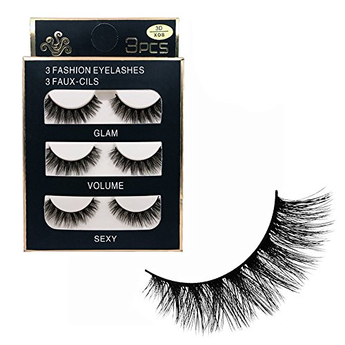 609339a22b4 ✿Higlles False Eyelashes, Best Fake Lashes Extension for Natural, Ultra  Thin Fiber Eye