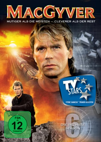 MacGyver - Die sechste Season [6 DVDs]