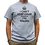 Telecharger Livres Nutees I Can t Keep Calm Stronzo I m Italian Italy Funny Mens T Shirt Sport Gris X Large (PDF,EPUB,MOBI) gratuits en Francaise