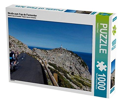Preisvergleich Produktbild Straße zum Cap de Formentor 1000 Teile Puzzle quer (CALVENDO Natur)