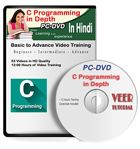 Learn C Programming in Depth Video Training 1 DVD