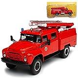 alles-meine GmbH ZIL 130 ATS 40 Feuerwehr Rot 1/43 Atlas Modell Auto