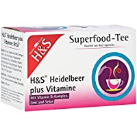 H&S Heidelbeer plus Vitamine Filterbeutel 20 St Filterbeutel preisvergleich bei billige-tabletten.eu