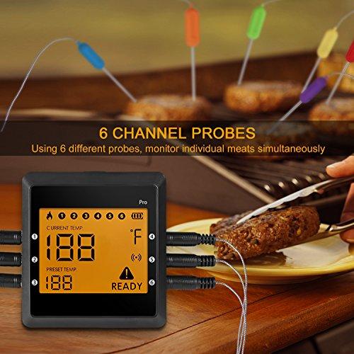 Zoom IMG-3 termometro cucina sonda wireless bluetooth