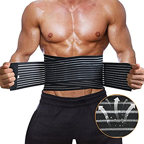 Lumbar Lower Back Brace and Support for Men and Women,