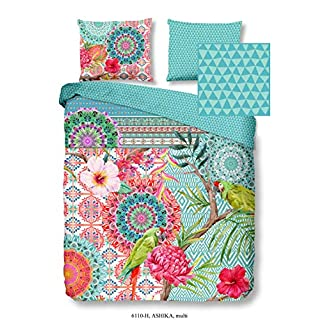 HIP Bed Linen Ashika Flowers/Floral / Patterned/Animals 1 Persoons 140 x 200/220 cm