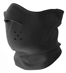 "Tour de Cou Masque Protection Neoprene + Polaire ""Urban Protect"" - Taille unique réglable - Airsoft - Paintball - Outdoor - Ski - Snow - Surf - Moto - Biker - Quad"