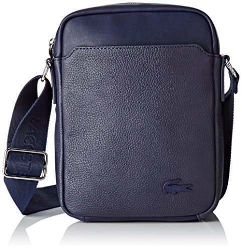 Lacoste NH1830RA, Sac Bandouliere Hommes, 22.5 x 5.5 x 18 cm Peacoat