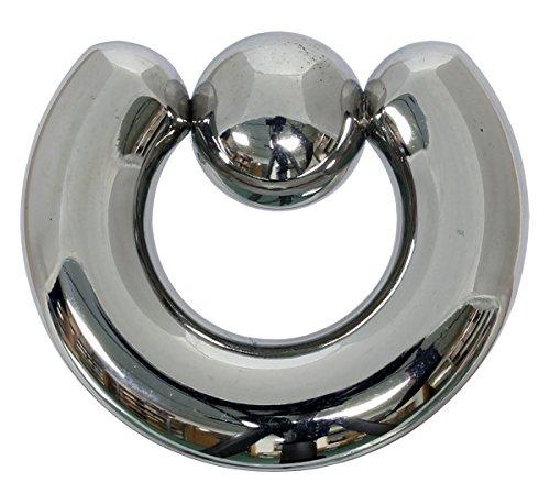 Klemmkugelring 8,0 x 16 mm aus 316L Chirurgenstahl - Piercing BCR -