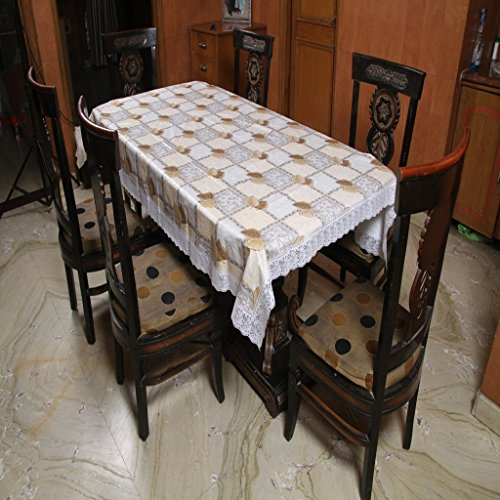 Freely Print Dining Table Cover For 8 Seaters  available at amazon for Rs.749