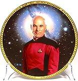 """'Star Trek Hamilton Plate Collection """"Jean-Luc Picard limitierter Gestionnaire d'assiettes avec support..."""