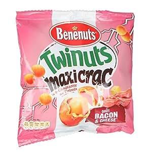 BENENUTS Twinuts Maxicrac Bacon et Cheese 210g