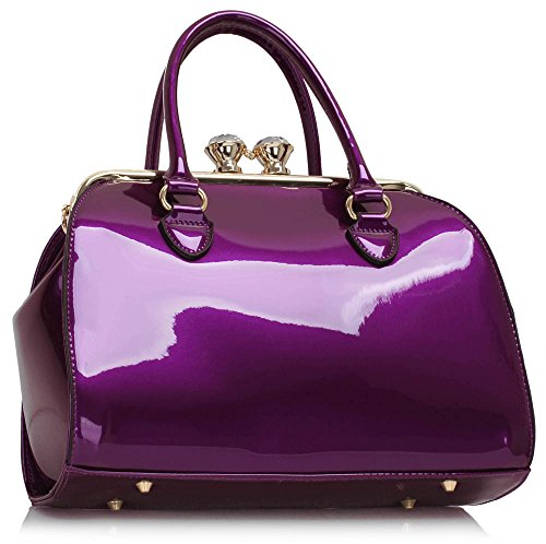 LS2, Borsa a mano donna Purple