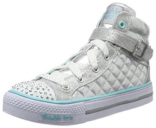 skechers-shuffles-sweetheart-sole-sneakers-hautes-fille-argent-sil-argent-29-eu