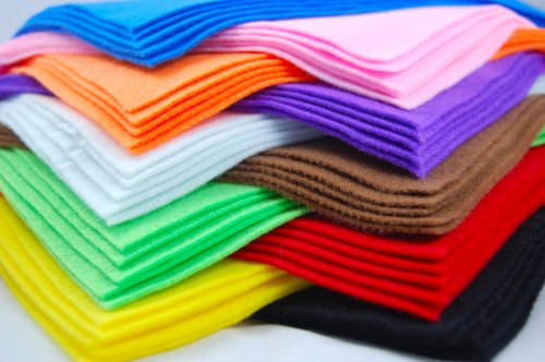 10-Felt-Fabric-Sheets-Various-Colours-A4-size