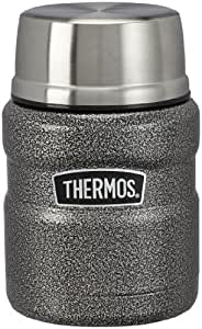 Thermos Stainless King Food Flask 0.47L Hammertone