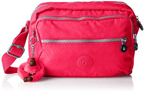 Kipling Deena, Sacs bandoulière Rose (Flamboyant Pink)