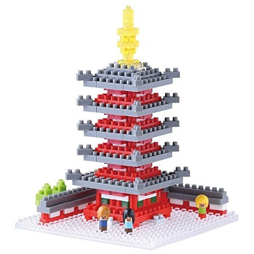 Nanoblock Bic Camera Exclusive Five-Story Pagoda NBH-088 LIMITED EDITION