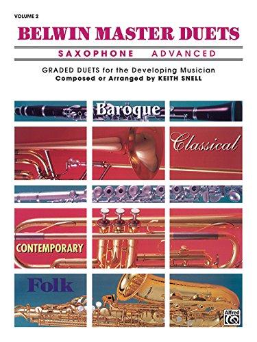Belwin Master Duets (Saxophone): Advanced