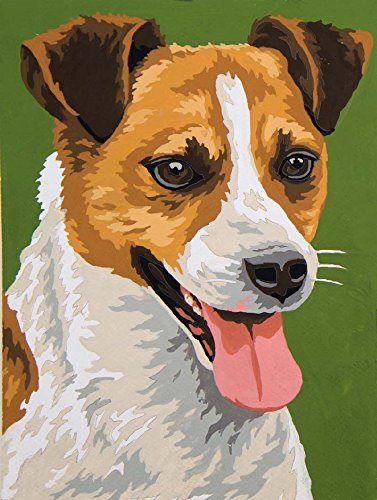grafitec stampato Tapestry/Needlepoint Tela-Jack Russell Terrier