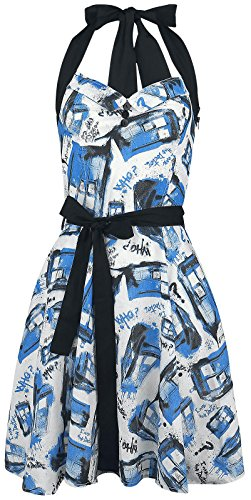 Doctor Who Street Tardis Kleid multicolour M