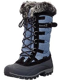 Kamik Damen Snowvalley Schneestiefel, Blau (Jeans/Denim), 41 EU