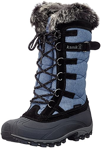 Kamik Damen Snowvalley Schneestiefel, Blau (Jeans/Denim), 38 EU